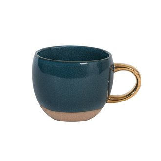 Urban Nature Culture Kop reactive glaze legion blue