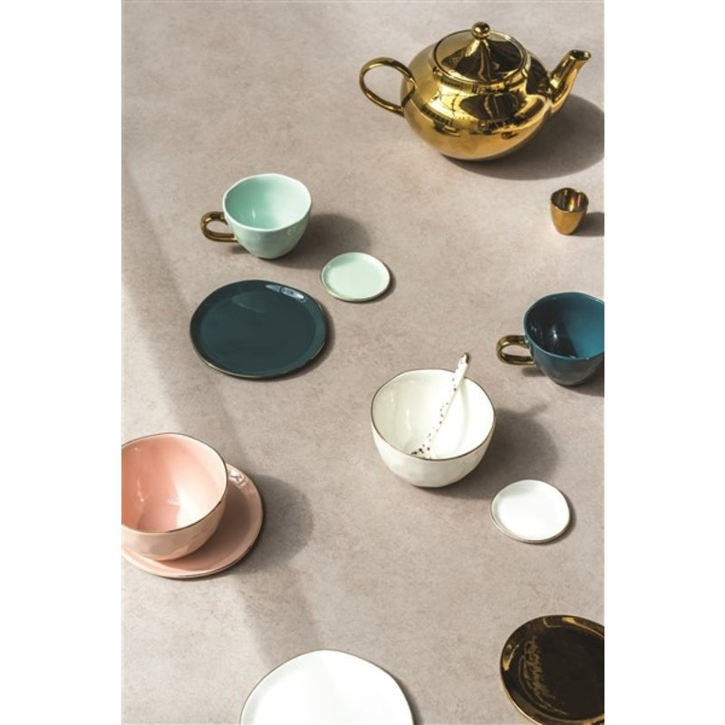 Urban Nature Culture-collectie Theepot goud Good Morning