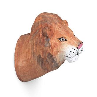 ferm LIVING Animal Hand-carved Hook - Lion