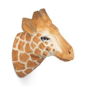 ferm LIVING Giraf wandhaak hand carved