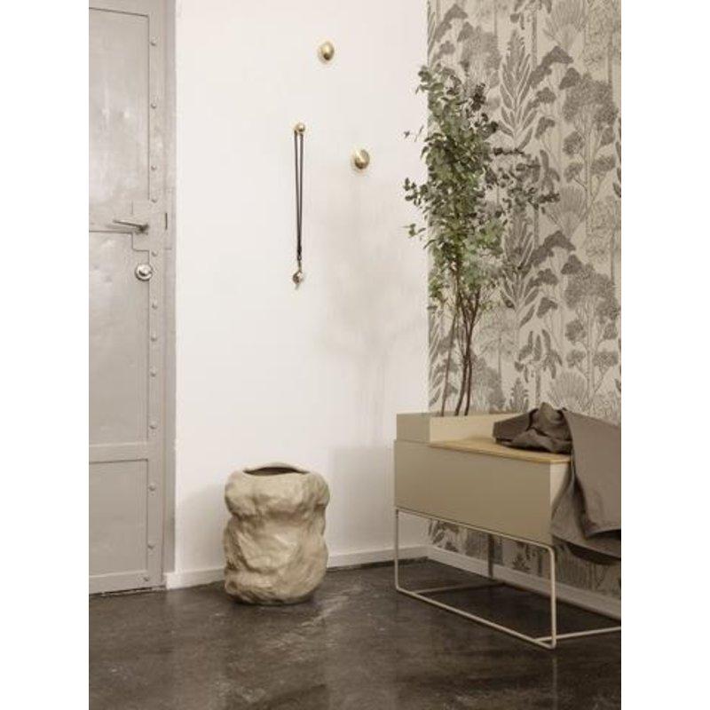 ferm LIVING-collectie Tuck Vase - Cashmere