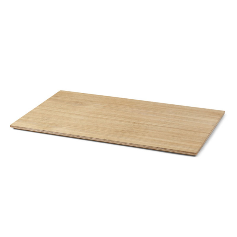 ferm LIVING-collectie Tray for Plant Box Large - Wood - Oiled