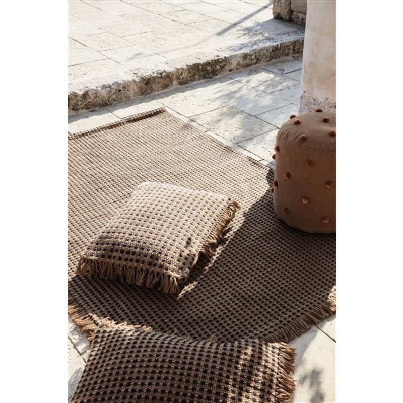 ferm LIVING-collectie Way Cushion 70x50 - Sugar Kelp