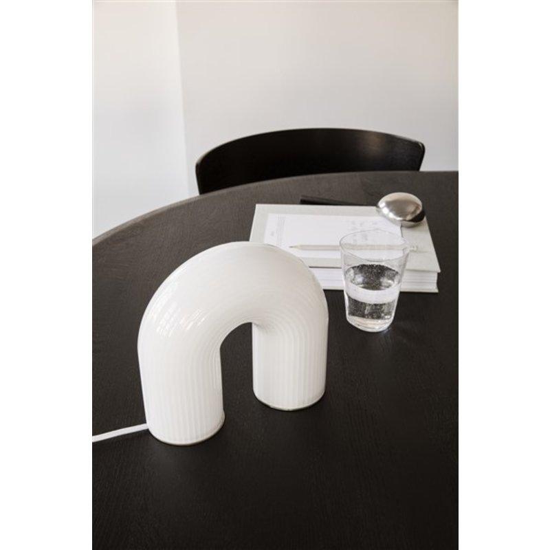 ferm LIVING-collectie Tafellamp Vuelta wit