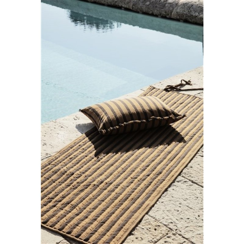 ferm LIVING-collectie True Quilted Rolling Mat - Sugar Kelp Bl