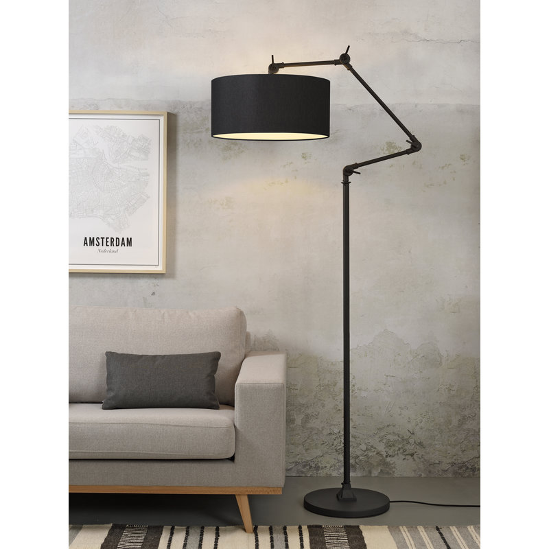 it's about RoMi-collectie Floor lamp Amsterdam shade 4723cm, black