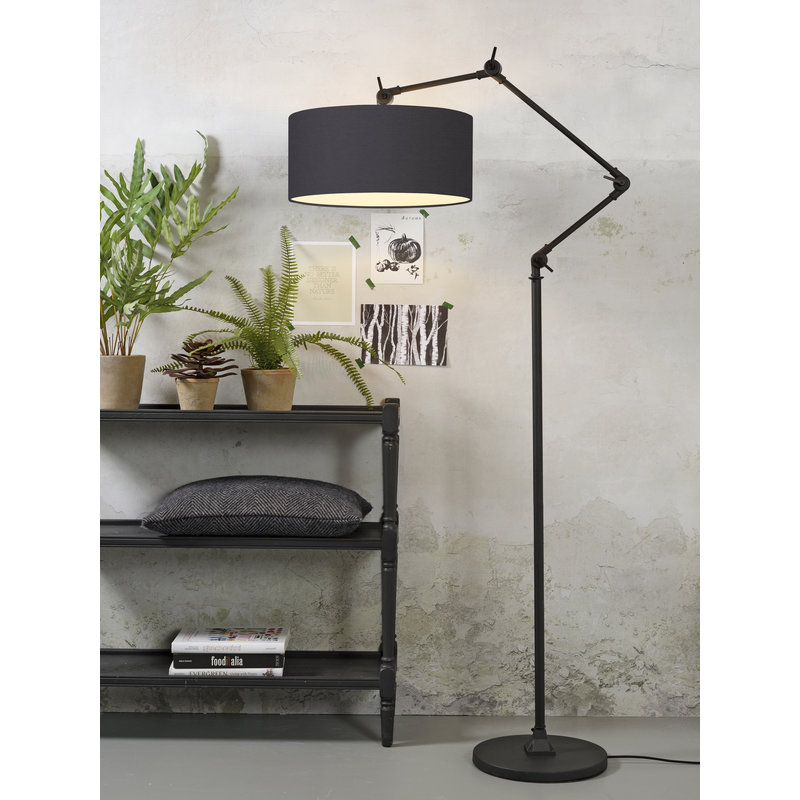 it's about RoMi-collectie Floor lamp Amsterdam shade 4723cm, d.grey