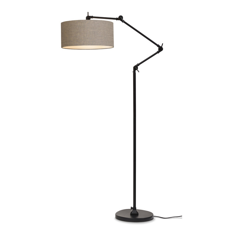 it's about RoMi-collectie Floor lamp Amsterdam shade 4723cm, d.linen