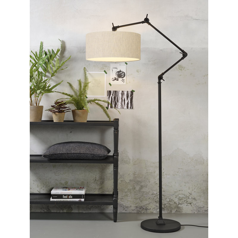 it's about RoMi-collectie Floor lamp Amsterdam shade 4723cm, l.linen
