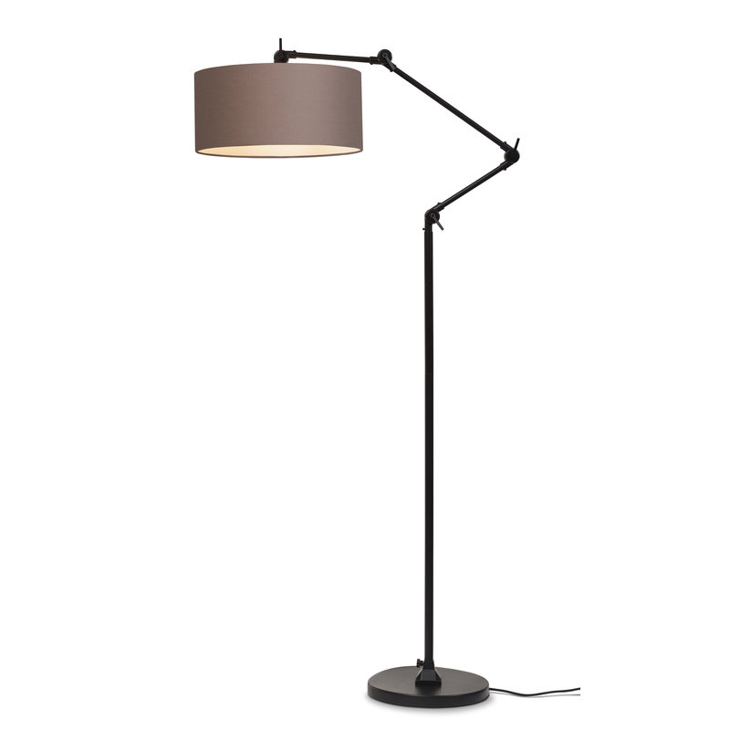 it's about RoMi-collectie Vloerlamp Amsterdam kap 4723cm, sand grey