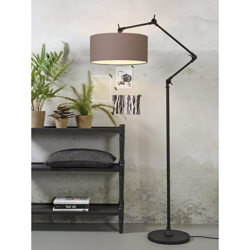 it's about RoMi-collectie Floor lamp Amsterdam shade 4723cm, sand grey