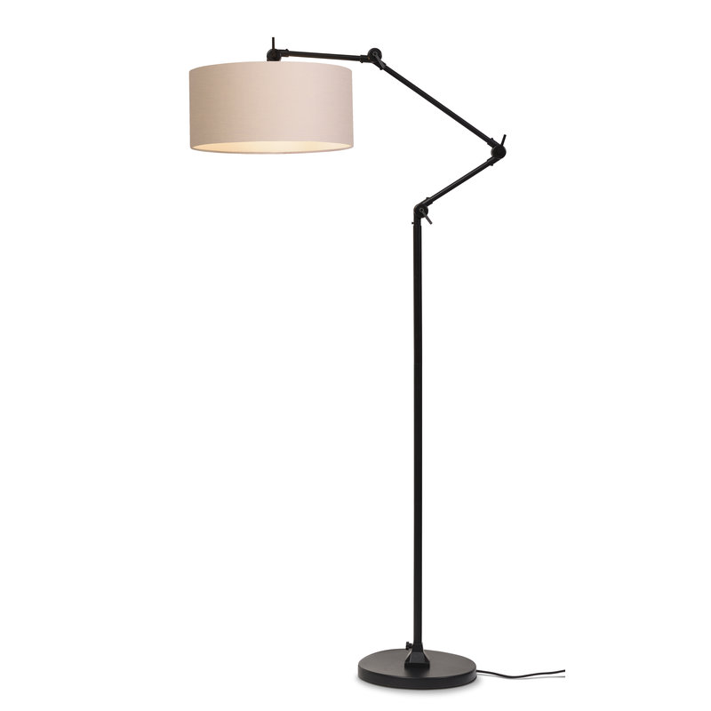 it's about RoMi-collectie Vloerlamp Amsterdam kap 4723cm, taupe