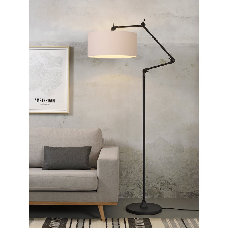 it's about RoMi-collectie Floor lamp Amsterdam shade 4723cm, taupe