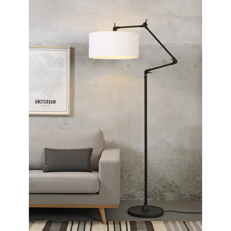 it's about RoMi-collectie Floor lamp Amsterdam shade 4723cm, white