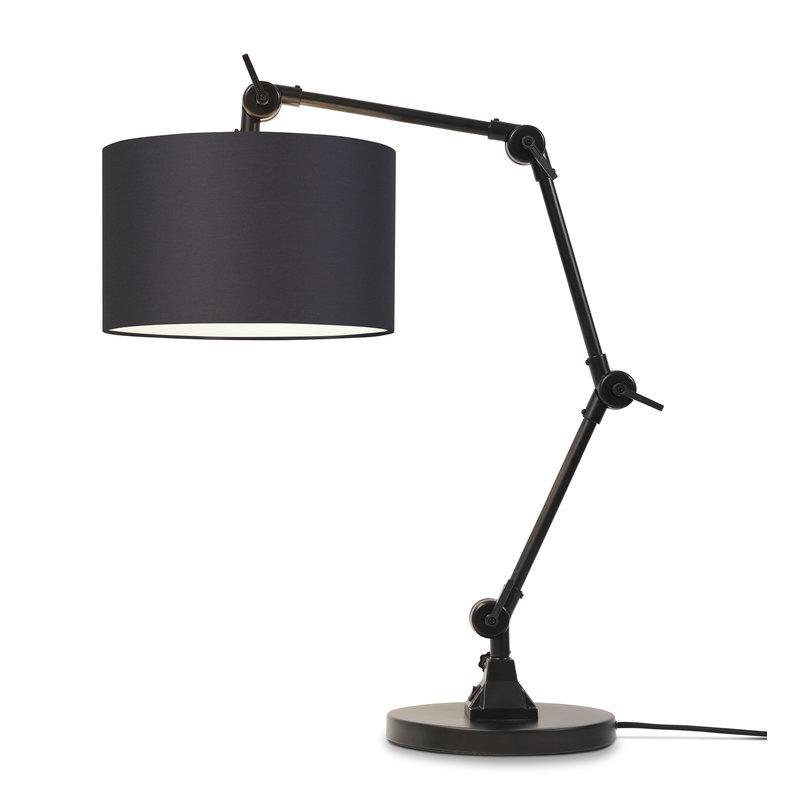 it's about RoMi-collectie Tafellamp Amsterdam kap 3220, d.grijs