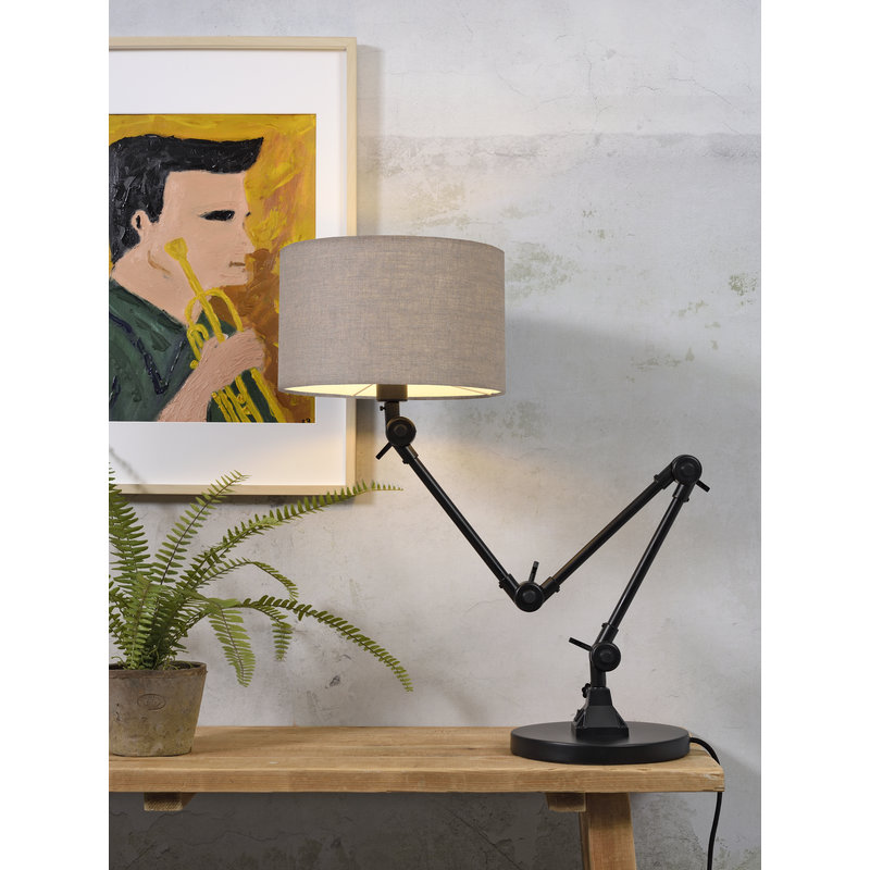 it's about RoMi-collectie Table lamp Amsterdam shade 3220, d.linen