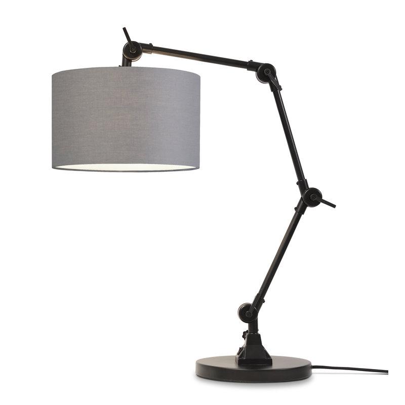 it's about RoMi-collectie Tafellamp Amsterdam kap 3220, l.grijs