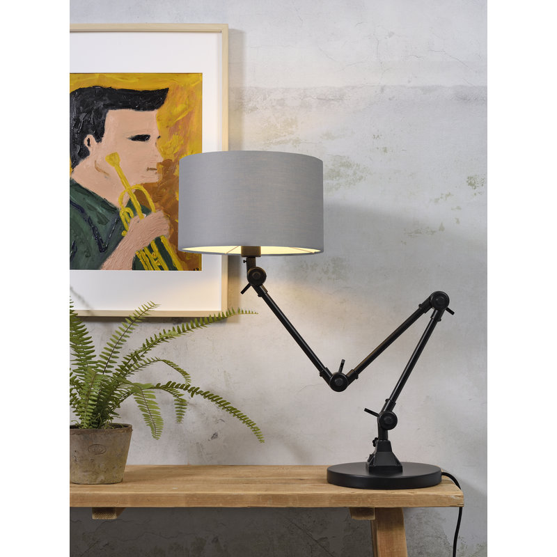 it's about RoMi-collectie Table lamp Amsterdam shade 3220, l.grey