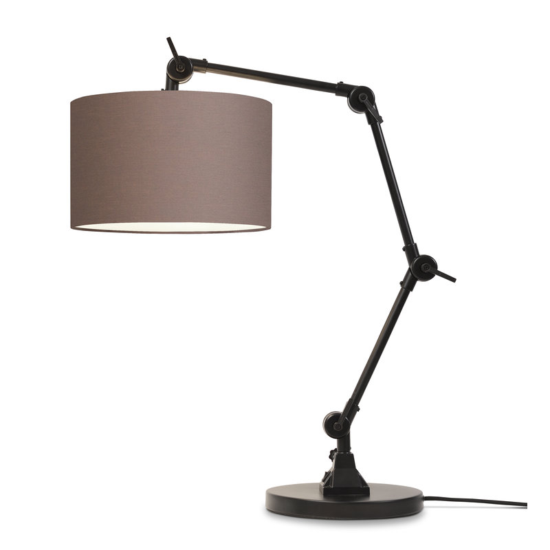it's about RoMi-collectie Table lamp Amsterdam shade 3220, sand grey