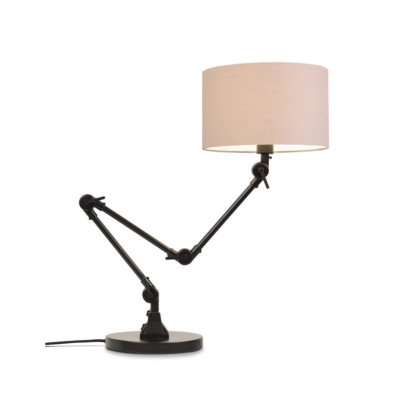 it's about RoMi-collectie Table lamp Amsterdam shade 3220, taupe