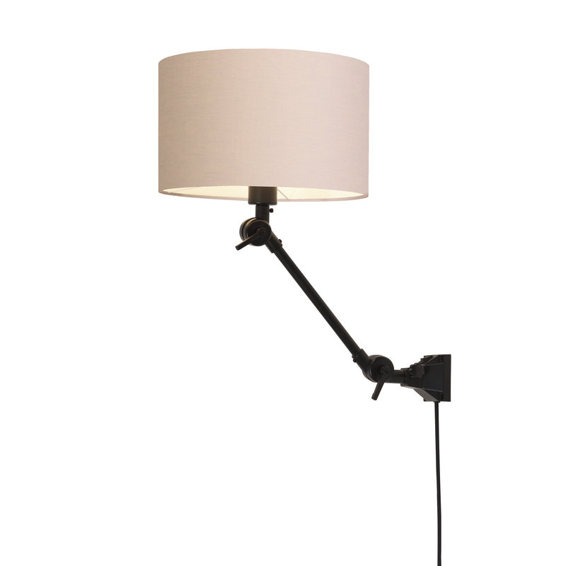 it's about RoMi-collectie Wall lamp Amsterdam shade 3220 taupe, S
