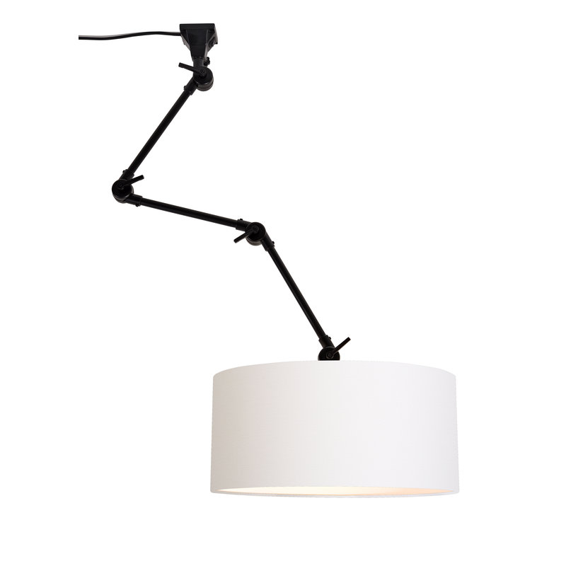 it's about RoMi-collectie Wall lamp Amsterdam shade 4723 white, L