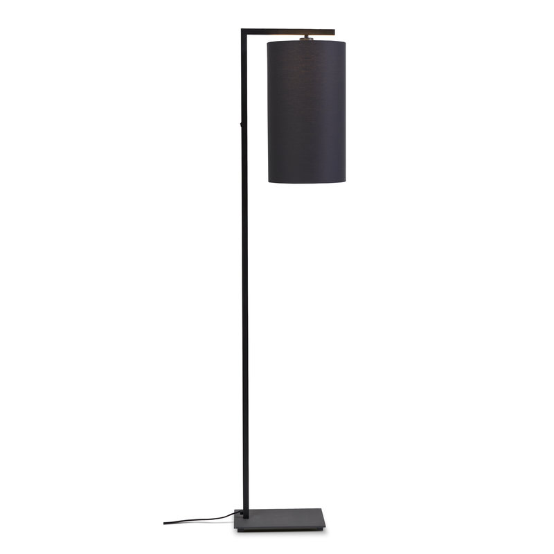 it's about RoMi-collectie Vloerlamp Boston kap 2545 d.grijs