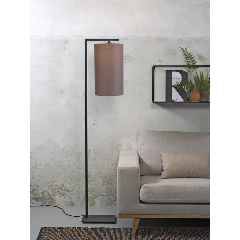 it's about RoMi-collectie Floor lamp Boston shade 2545 smoke grey