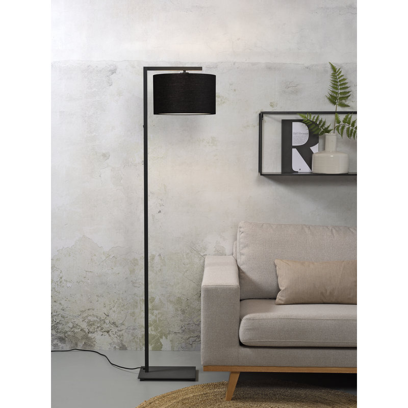it's about RoMi-collectie Floor lamp Boston shade 3220 black
