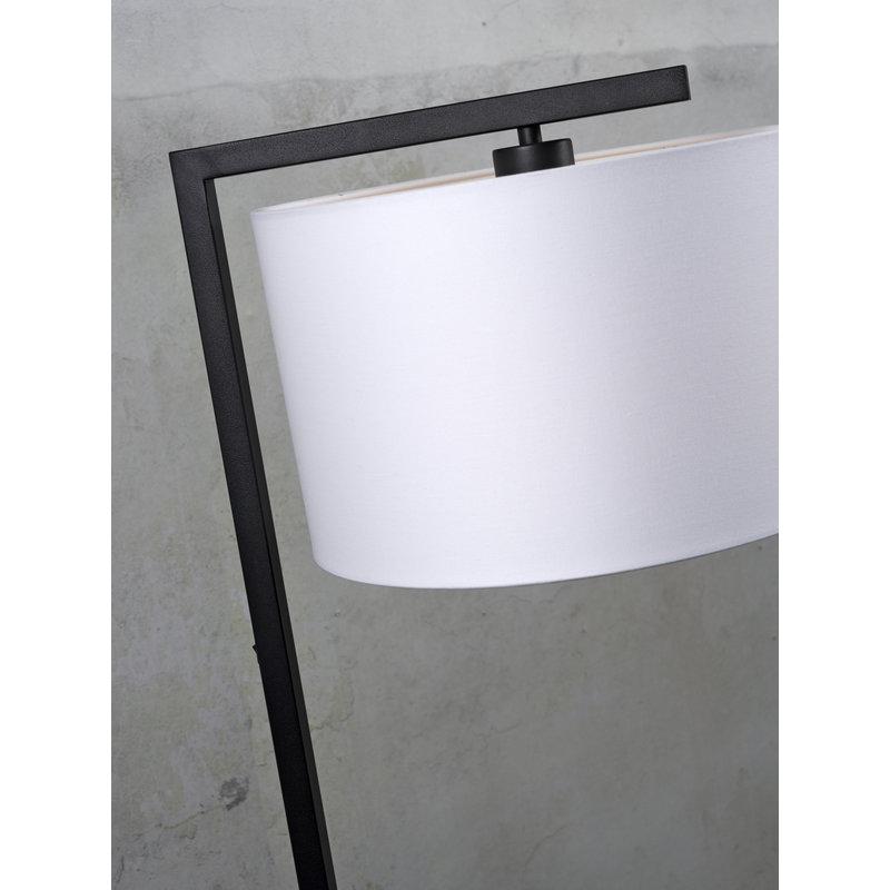 it's about RoMi-collectie Vloerlamp Boston kap 3220 zwart