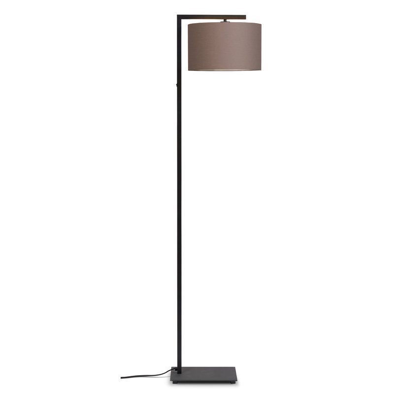 it's about RoMi-collectie Vloerlamp Boston kap 3220 sand  grey
