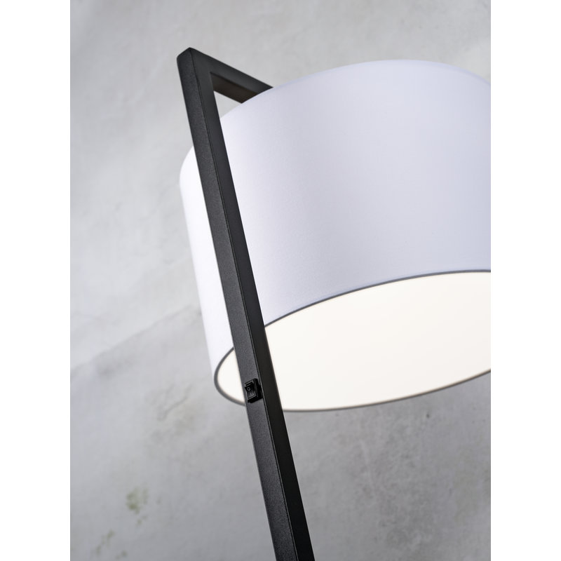 it's about RoMi-collectie Floor lamp Boston shade 3220 taupe