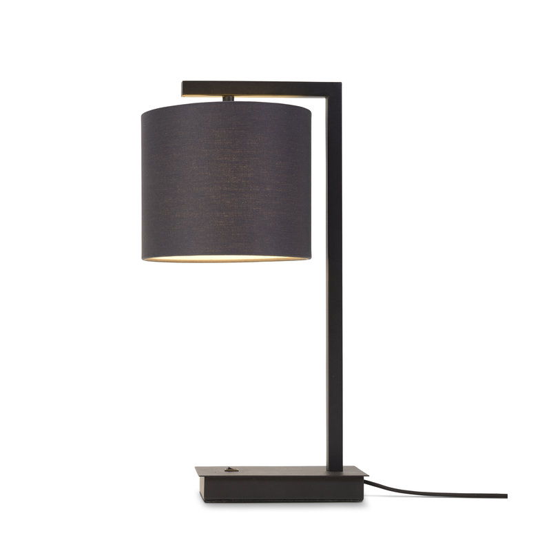 it's about RoMi-collectie Table lamp Boston shade 1815 black
