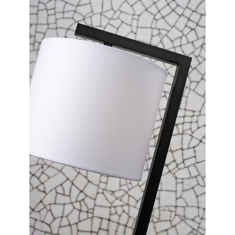 it's about RoMi-collectie Table lamp Boston shade 1815 white