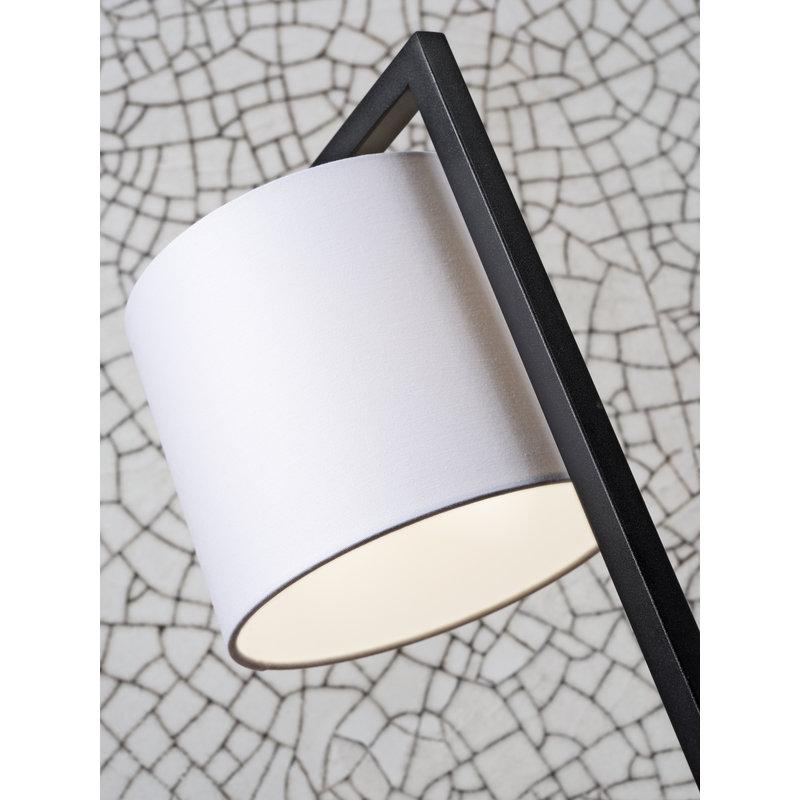 it's about RoMi-collectie Tafellamp Boston kap 1815 wit