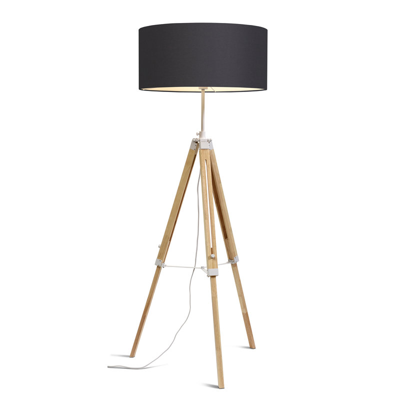 it's about RoMi-collectie Floor lamp Darwin white/shade 6030 d.grey