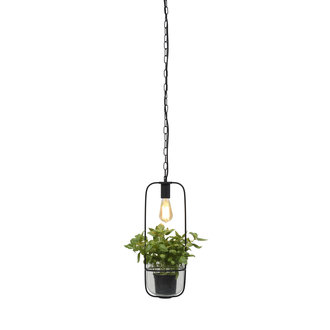 it's about RoMi Hanging lamp/plant holder Florence black
