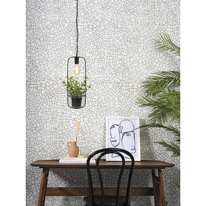 it's about RoMi-collectie Hanging lamp/plant holder Florence black