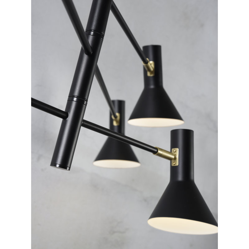 it's about RoMi-collectie Chandelier Izmir 3-arm black