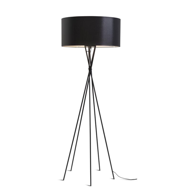 it's about RoMi-collectie Vloerlamp Lima zwart/kap 6030 zwart