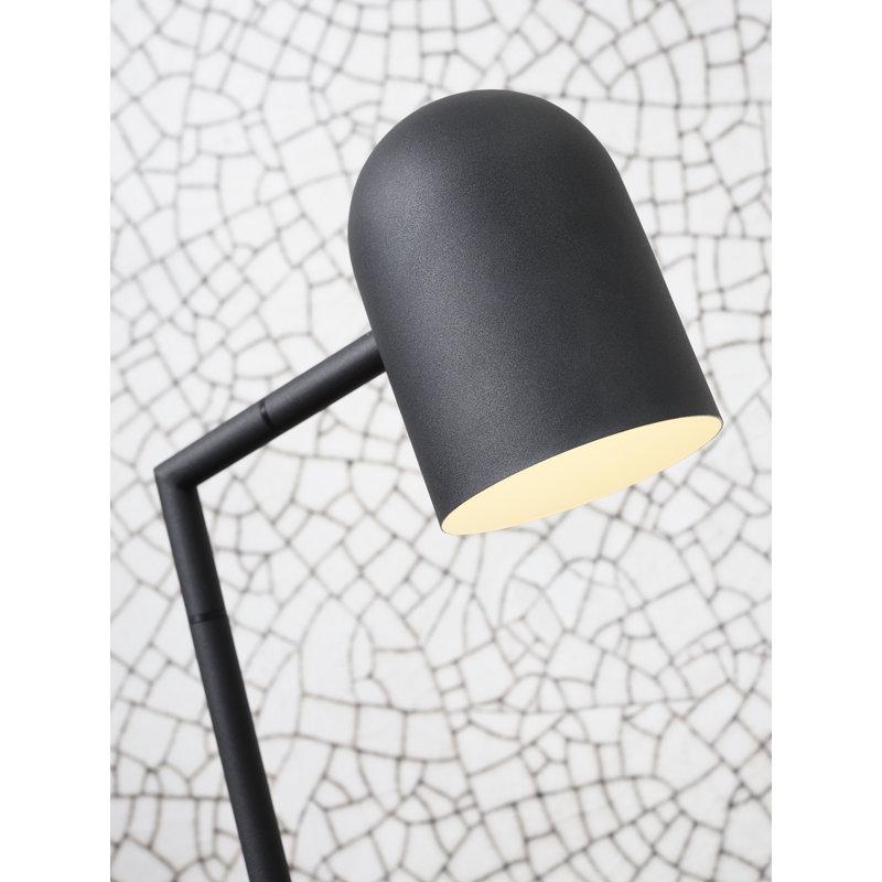 it's about RoMi-collectie Vloerlamp ijzer Marseille zwart