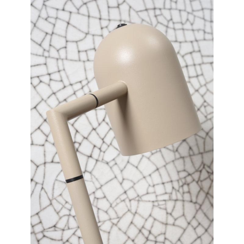 it's about RoMi-collectie Vloerlamp ijzer Marseille zand