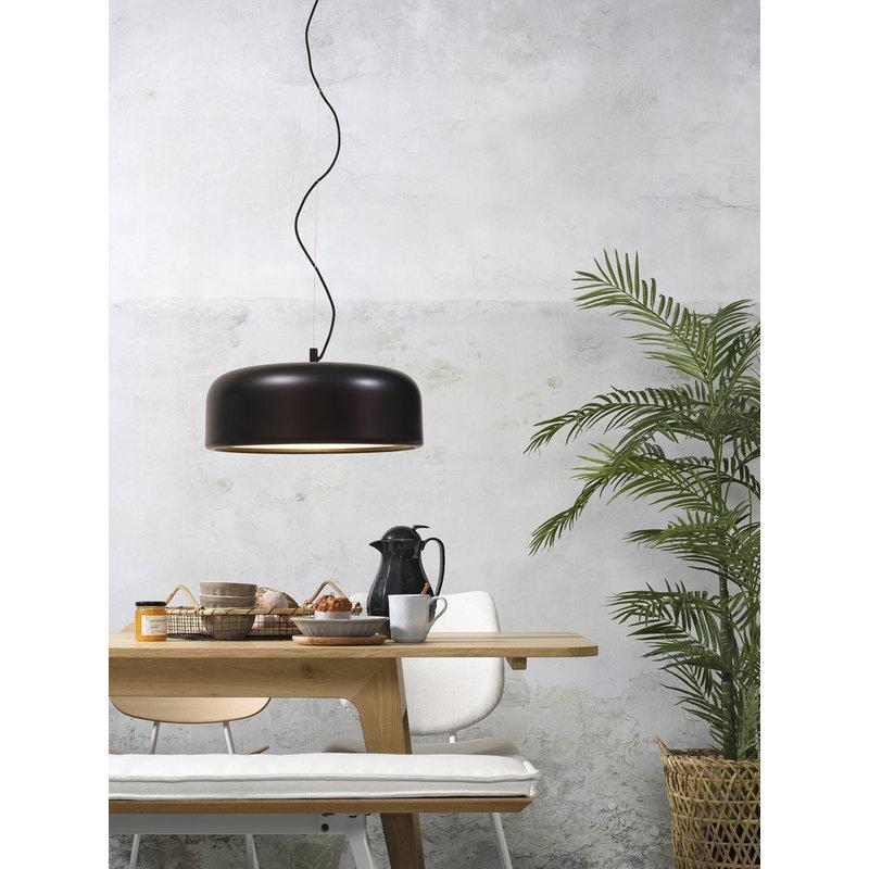 it's about RoMi-collectie Hanglamp aluminium Marseille zwart