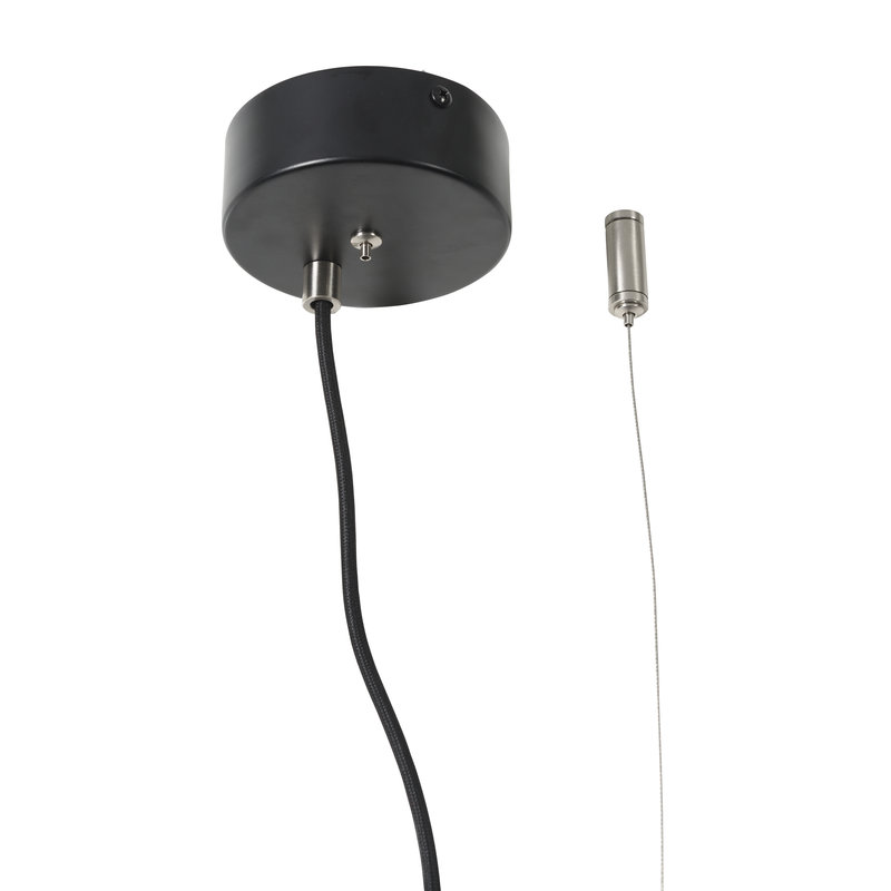it's about RoMi-collectie Hanging lamp aluminum Marseille black