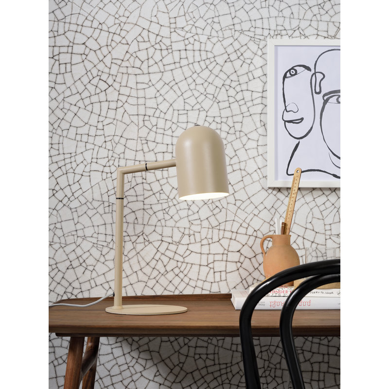 it's about RoMi-collectie Table lamp iron Marseille sand