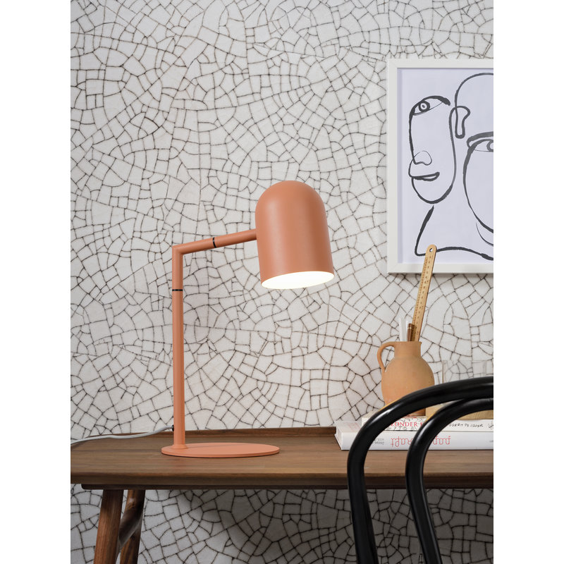 it's about RoMi-collectie Table lamp iron Marseille terra