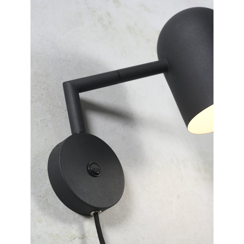 it's about RoMi-collectie Wall lamp iron Marseille black