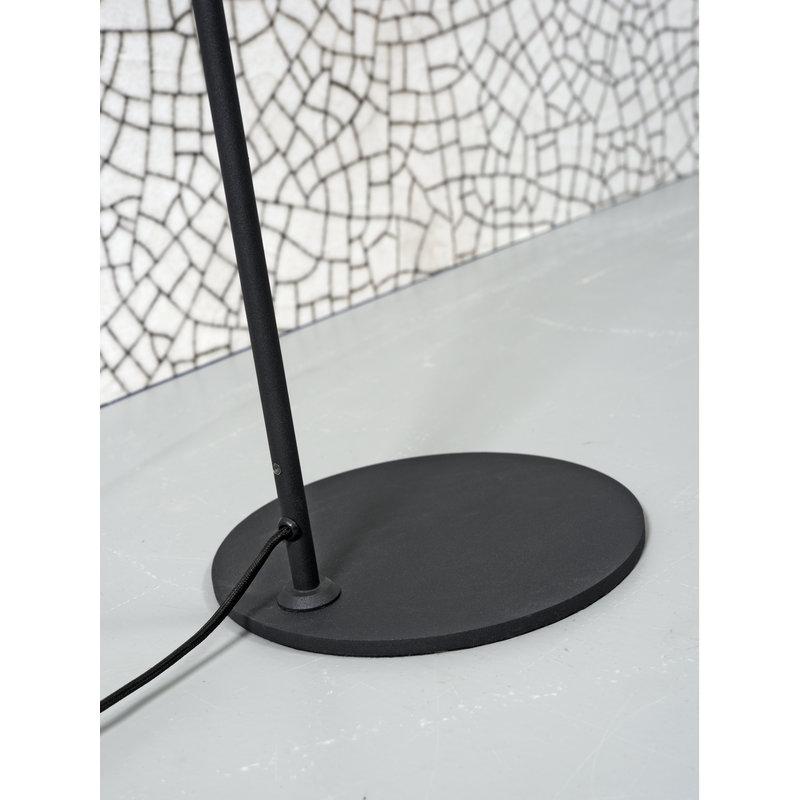it's about RoMi-collectie Vloerlamp ijzer Montreux LED zwart