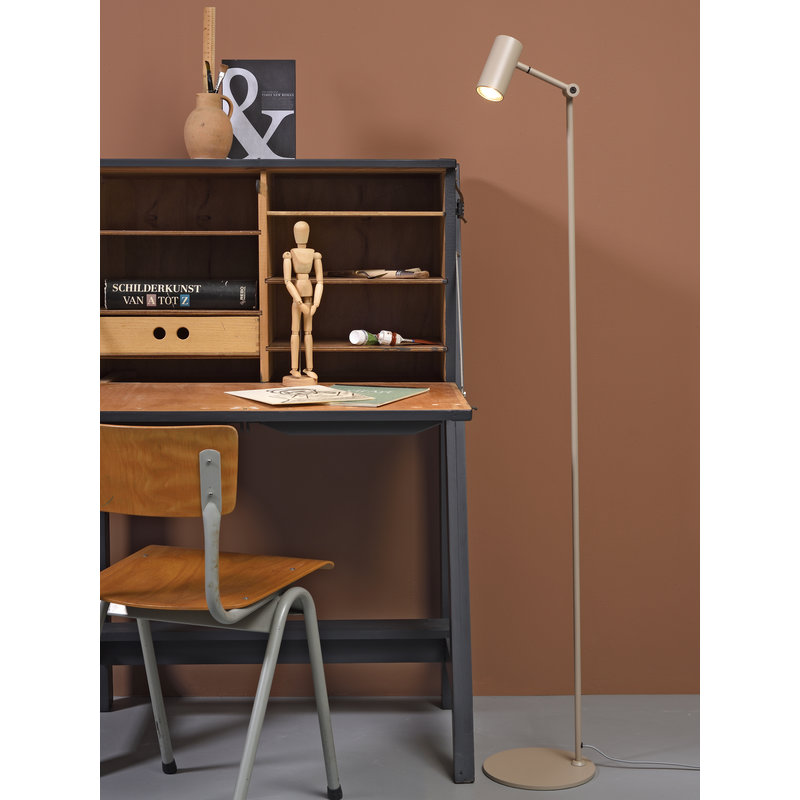 it's about RoMi-collectie Vloerlamp ijzer Montreux LED zand