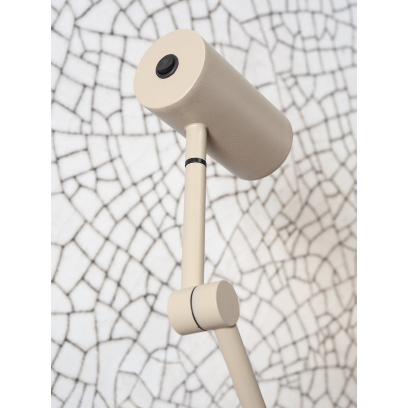 it's about RoMi-collectie Floor lamp iron Montreux LED sand